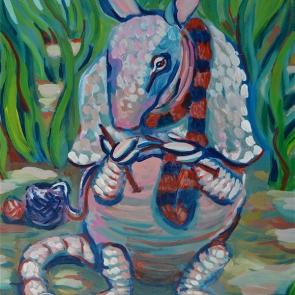 armadilloknitsascarf